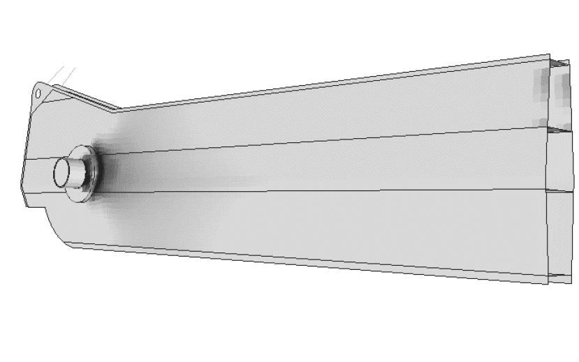 Fig. 5 – Tensione sul lato compresso