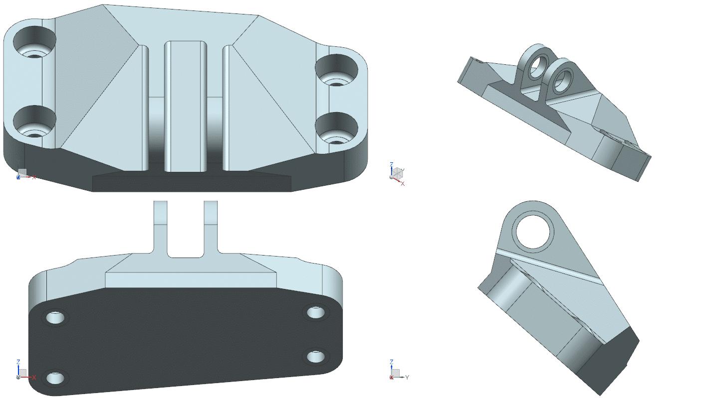 Figura 2 – Staffa di fusione
