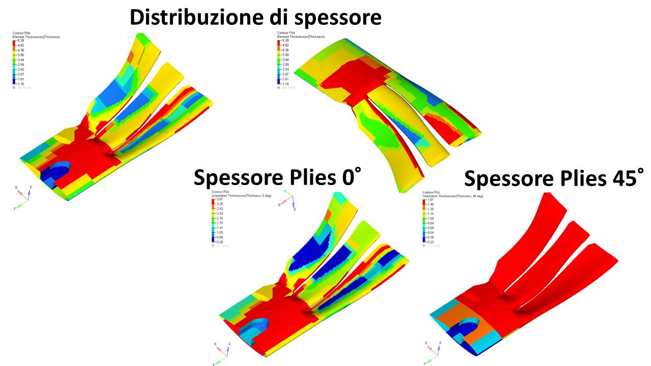 Figura 4 – Esempio di Ottimizzazione Topologica Size
