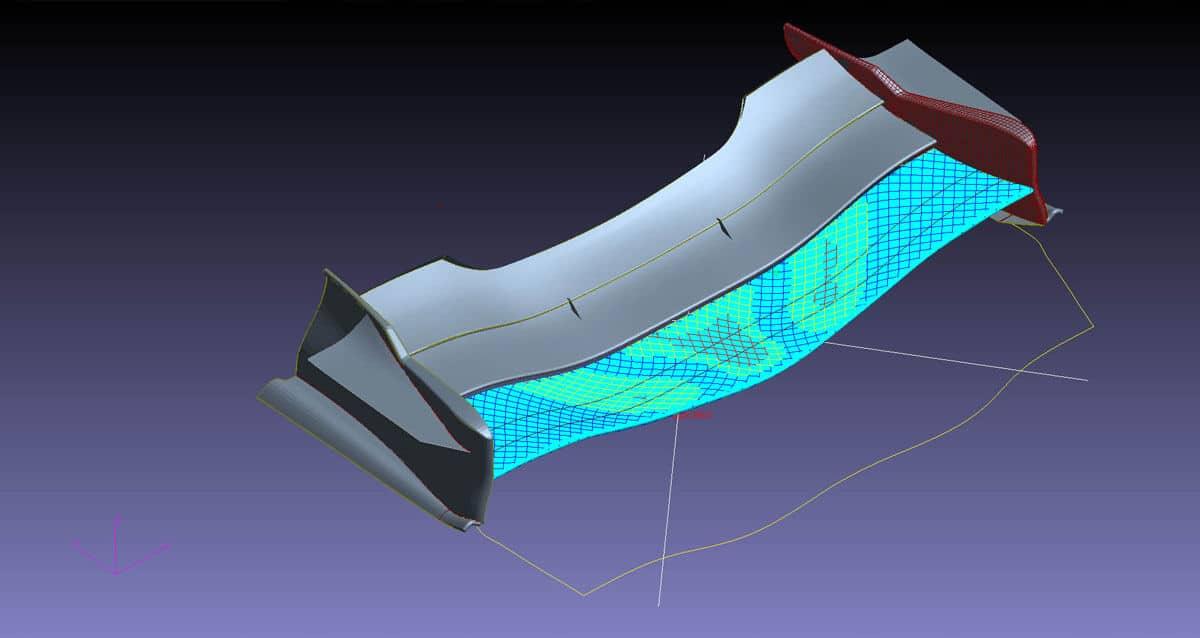 Smart Cae: Sviluppo di componenti in composito
