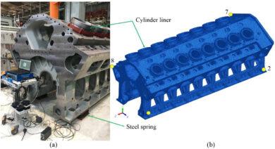 Valutazione sperimentale delle proprietà di inerzia dei grandi motori diesel